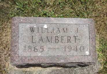 LAMBERT, WILLIAM J. - Pike County, Ohio | WILLIAM J. LAMBERT - Ohio Gravestone Photos