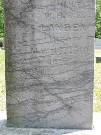 LANDEN, COLLEE - Pike County, Ohio | COLLEE LANDEN - Ohio Gravestone Photos