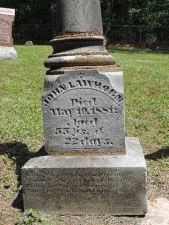 LAWHORN, JOHN - Pike County, Ohio   JOHN LAWHORN - Ohio Gravestone Photos