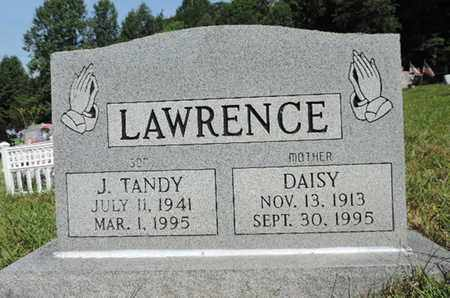 LAWRENCE, J. TANDY - Pike County, Ohio | J. TANDY LAWRENCE - Ohio Gravestone Photos