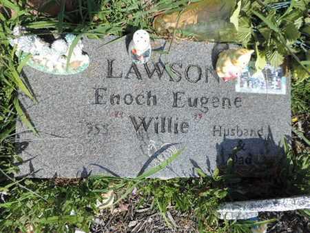 LAWSON, ENOCH EUGENE - Pike County, Ohio   ENOCH EUGENE LAWSON - Ohio Gravestone Photos