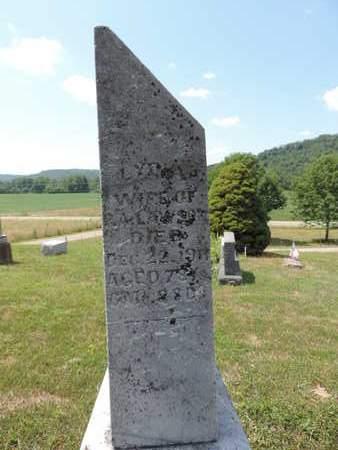 LAWSON, LYDIA - Pike County, Ohio | LYDIA LAWSON - Ohio Gravestone Photos