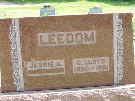 LEEDOM, JESSIE A - Pike County, Ohio | JESSIE A LEEDOM - Ohio Gravestone Photos