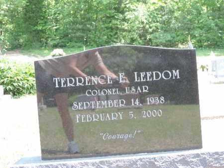 LEEDOM, TERRENCE E. - Pike County, Ohio   TERRENCE E. LEEDOM - Ohio Gravestone Photos