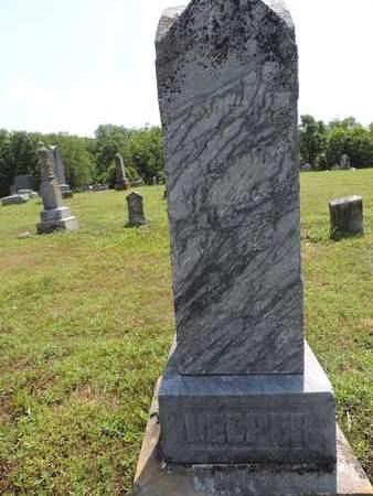 LEEPER, E - Pike County, Ohio | E LEEPER - Ohio Gravestone Photos
