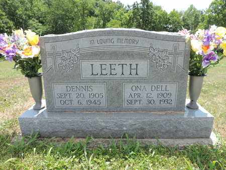 LEETH, DENNIS - Pike County, Ohio | DENNIS LEETH - Ohio Gravestone Photos