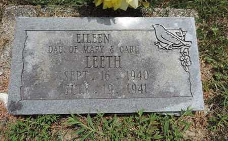 LEETH, EILEEN - Pike County, Ohio | EILEEN LEETH - Ohio Gravestone Photos