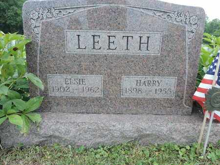 LEETH, HARRY - Pike County, Ohio | HARRY LEETH - Ohio Gravestone Photos