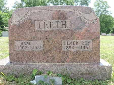 LEETH, ELMER ROY - Pike County, Ohio   ELMER ROY LEETH - Ohio Gravestone Photos