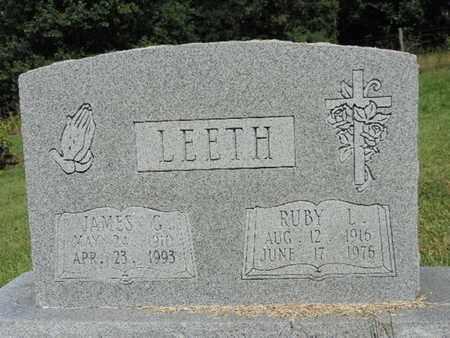 LEETH, RUBY L. - Pike County, Ohio | RUBY L. LEETH - Ohio Gravestone Photos