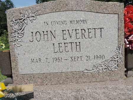 LEETH, JOHN - Pike County, Ohio   JOHN LEETH - Ohio Gravestone Photos
