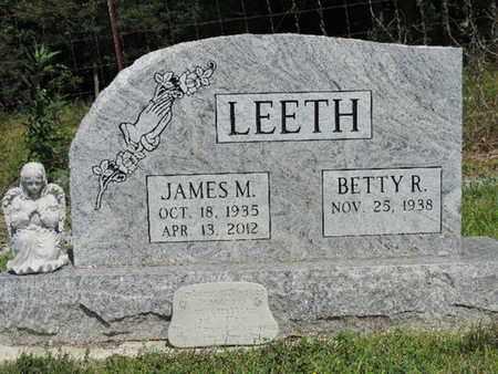 LEETH, BETTY R. - Pike County, Ohio | BETTY R. LEETH - Ohio Gravestone Photos