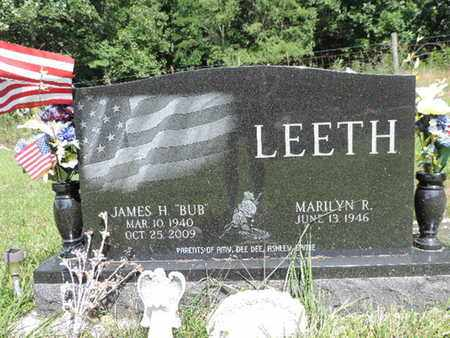 LEETH, MARILYN R. - Pike County, Ohio | MARILYN R. LEETH - Ohio Gravestone Photos