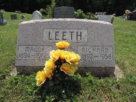LEETH, MAUDE - Pike County, Ohio | MAUDE LEETH - Ohio Gravestone Photos