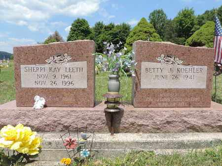 LEETH, SHERRI KAY - Pike County, Ohio | SHERRI KAY LEETH - Ohio Gravestone Photos