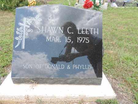 LEETH, SHAWN C. - Pike County, Ohio | SHAWN C. LEETH - Ohio Gravestone Photos