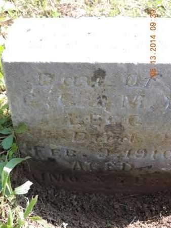 LEGG, ) - Pike County, Ohio | ) LEGG - Ohio Gravestone Photos
