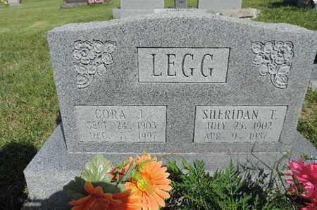 LEGG, CORA J. - Pike County, Ohio | CORA J. LEGG - Ohio Gravestone Photos