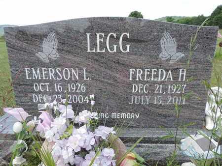 LEGG, EMERSON L. - Pike County, Ohio | EMERSON L. LEGG - Ohio Gravestone Photos