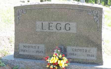 LEGG, GROVER C - Pike County, Ohio   GROVER C LEGG - Ohio Gravestone Photos