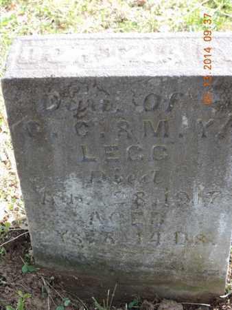 LEGG, M - Pike County, Ohio | M LEGG - Ohio Gravestone Photos