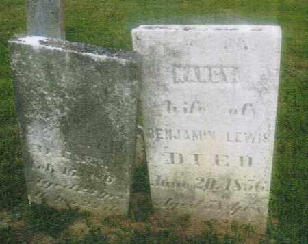 GABRIEL LEWIS, NANCY - Pike County, Ohio | NANCY GABRIEL LEWIS - Ohio Gravestone Photos