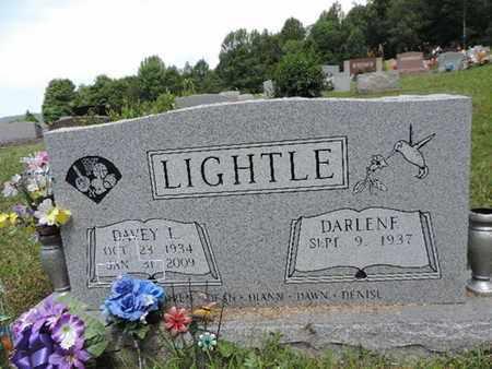 LIGHTLE, DAVEY L. - Pike County, Ohio | DAVEY L. LIGHTLE - Ohio Gravestone Photos