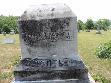 LGHTLE, SARAH C. - Pike County, Ohio | SARAH C. LGHTLE - Ohio Gravestone Photos