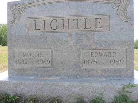 LIGHTLE, EDWARD - Pike County, Ohio | EDWARD LIGHTLE - Ohio Gravestone Photos