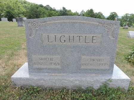 LIGHTLE, EDWARD - Pike County, Ohio | EDWARD LIGHTLE - Ohio Gravestone Photos