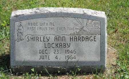 HARDAGE LOCKABY, SHIRLEY ANN - Pike County, Ohio | SHIRLEY ANN HARDAGE LOCKABY - Ohio Gravestone Photos