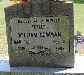 LOWMAN, WILLIAM - Pike County, Ohio | WILLIAM LOWMAN - Ohio Gravestone Photos