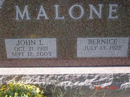 MALONE, JOHN LEE - Pike County, Ohio | JOHN LEE MALONE - Ohio Gravestone Photos