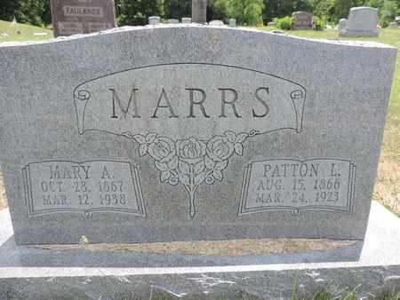 MARRS, PATTON L. - Pike County, Ohio   PATTON L. MARRS - Ohio Gravestone Photos