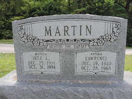 MARTIN, INEZ L - Pike County, Ohio | INEZ L MARTIN - Ohio Gravestone Photos