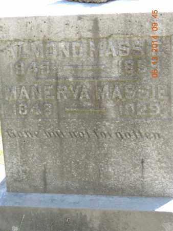 MASSIE, MANERVA - Pike County, Ohio | MANERVA MASSIE - Ohio Gravestone Photos