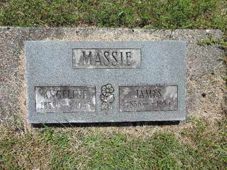 MASSIE, JAMES - Pike County, Ohio   JAMES MASSIE - Ohio Gravestone Photos