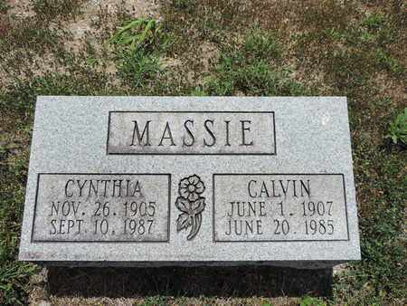 MASSIE, CYNTHIA - Pike County, Ohio | CYNTHIA MASSIE - Ohio Gravestone Photos