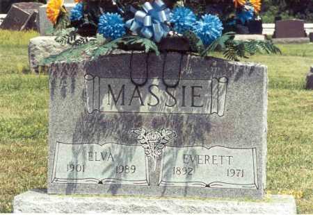 TEWKSBURY MASSIE, ELVA - Pike County, Ohio | ELVA TEWKSBURY MASSIE - Ohio Gravestone Photos