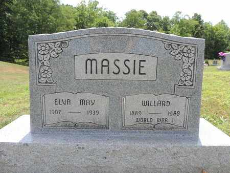 MASSIE, WILLARD - Pike County, Ohio | WILLARD MASSIE - Ohio Gravestone Photos