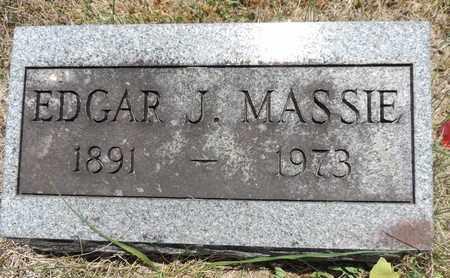MASSIE, EDGAR J. - Pike County, Ohio | EDGAR J. MASSIE - Ohio Gravestone Photos