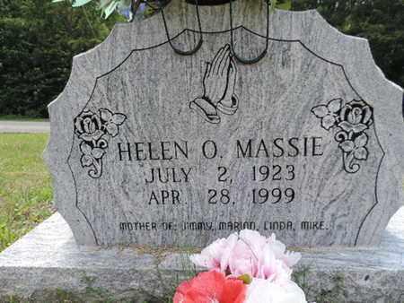 MASSIE, HELEN O. - Pike County, Ohio   HELEN O. MASSIE - Ohio Gravestone Photos