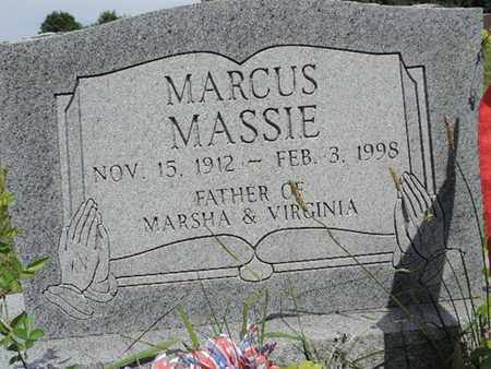 MASSIE, MARCUS - Pike County, Ohio | MARCUS MASSIE - Ohio Gravestone Photos