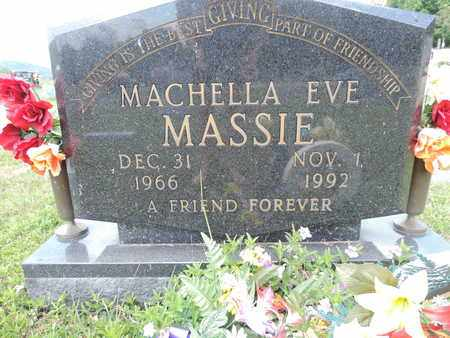 MASSIE, MACHELLA EVE - Pike County, Ohio | MACHELLA EVE MASSIE - Ohio Gravestone Photos