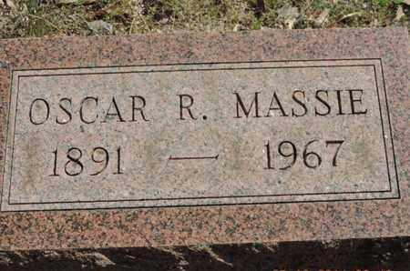 MASSIE, OSCAR R. - Pike County, Ohio | OSCAR R. MASSIE - Ohio Gravestone Photos