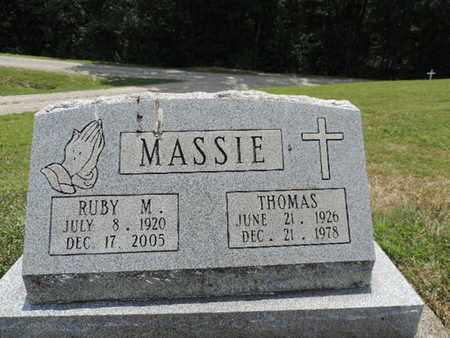 MASSIE, RUBY M. - Pike County, Ohio | RUBY M. MASSIE - Ohio Gravestone Photos