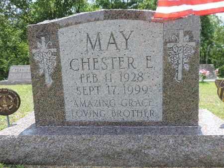 MAY, CHESTER E. - Pike County, Ohio | CHESTER E. MAY - Ohio Gravestone Photos