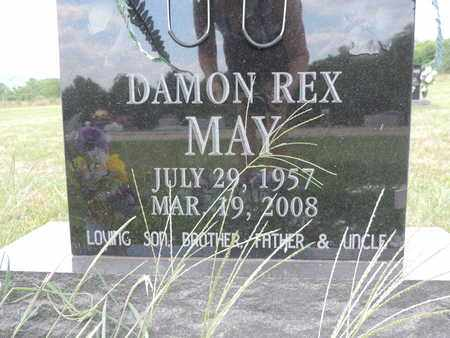 MAY, DAMON REX - Pike County, Ohio   DAMON REX MAY - Ohio Gravestone Photos