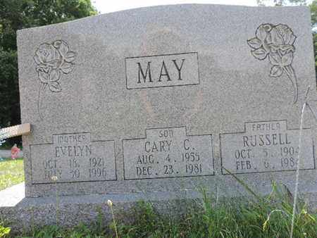 MAY, EVELYN - Pike County, Ohio | EVELYN MAY - Ohio Gravestone Photos