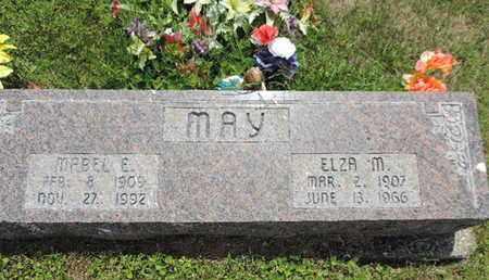 MAY, ELZA M. - Pike County, Ohio | ELZA M. MAY - Ohio Gravestone Photos